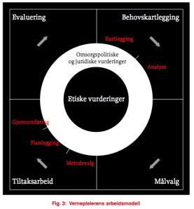Vernepleierens arbeidsmodell (FO 2008)