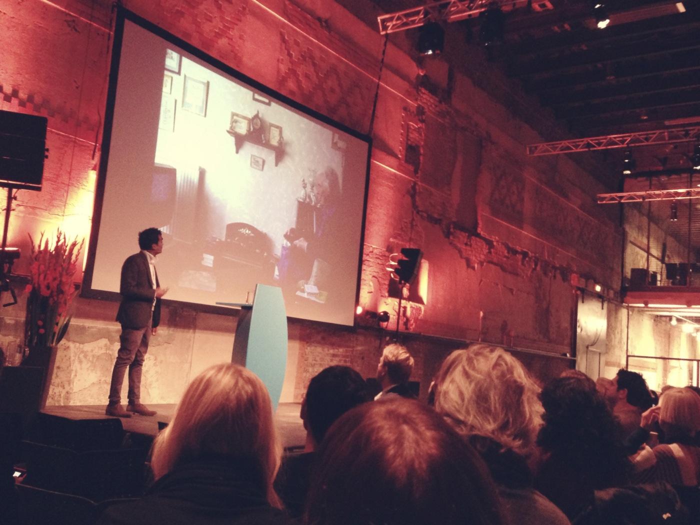 Bilde av Rama Gheerawo som foreleser i Oslo