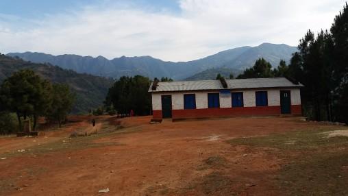 Nuwakot DCC som ble totalødelagt i jordskjelvet