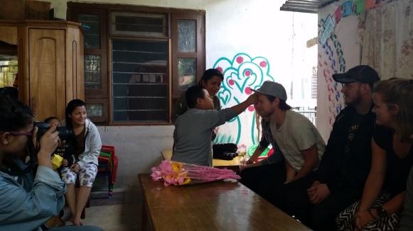 Satyam DCC Avslutningsseremoni for vernepleiestudentene med tikka