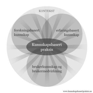 Modell Kunnskapsbasert praksis