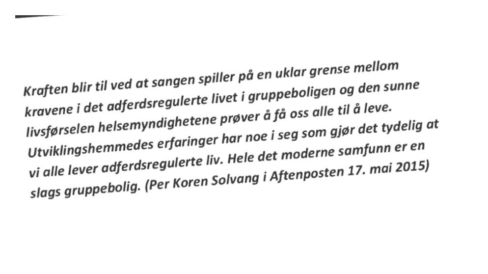 Tekst fra kronikk av Per Koren Solvang
