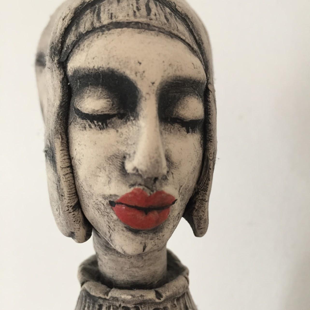 Illustrasjon: Keramikkfigur