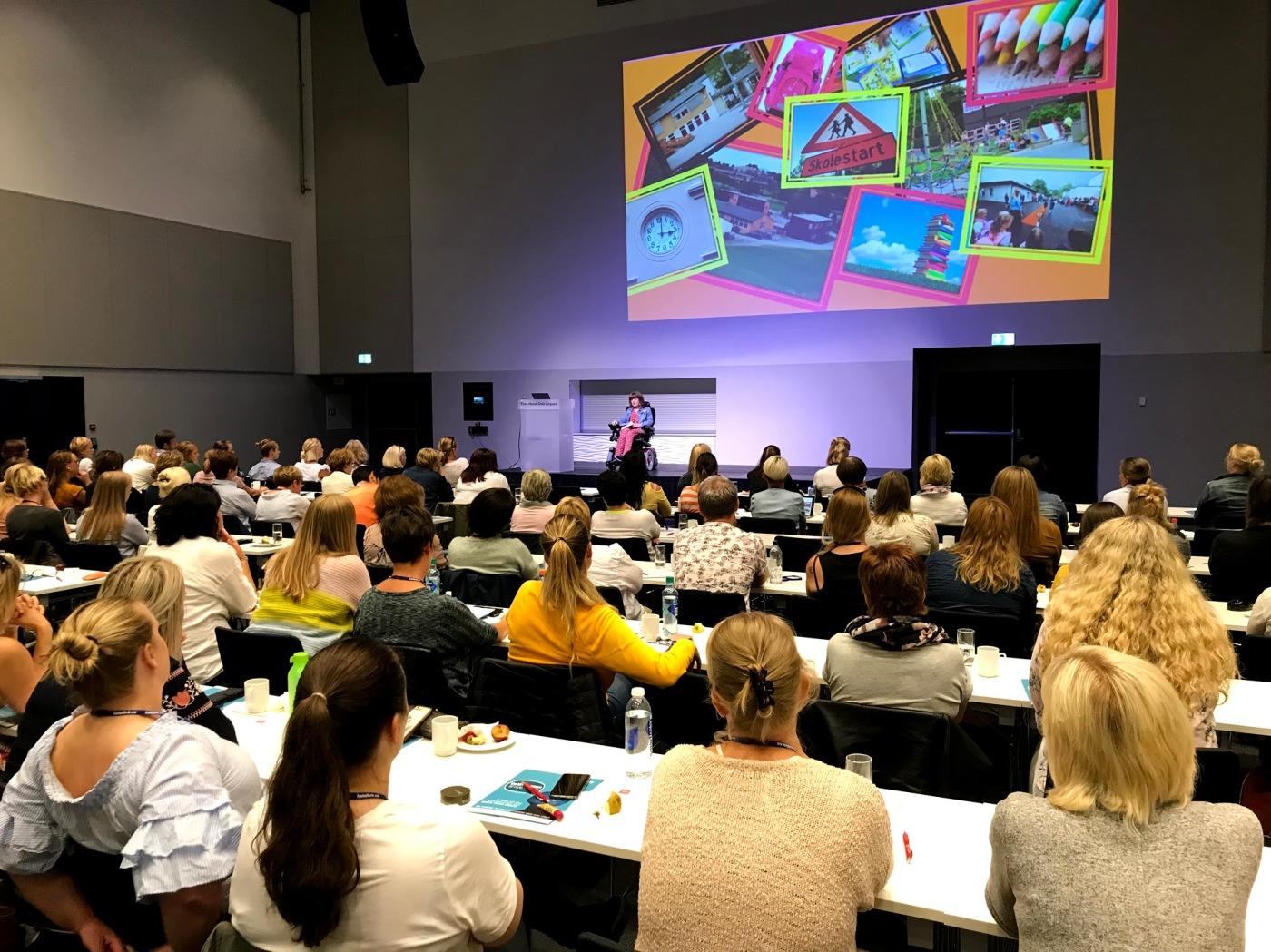 Marianne Knudsen åpner konferansen