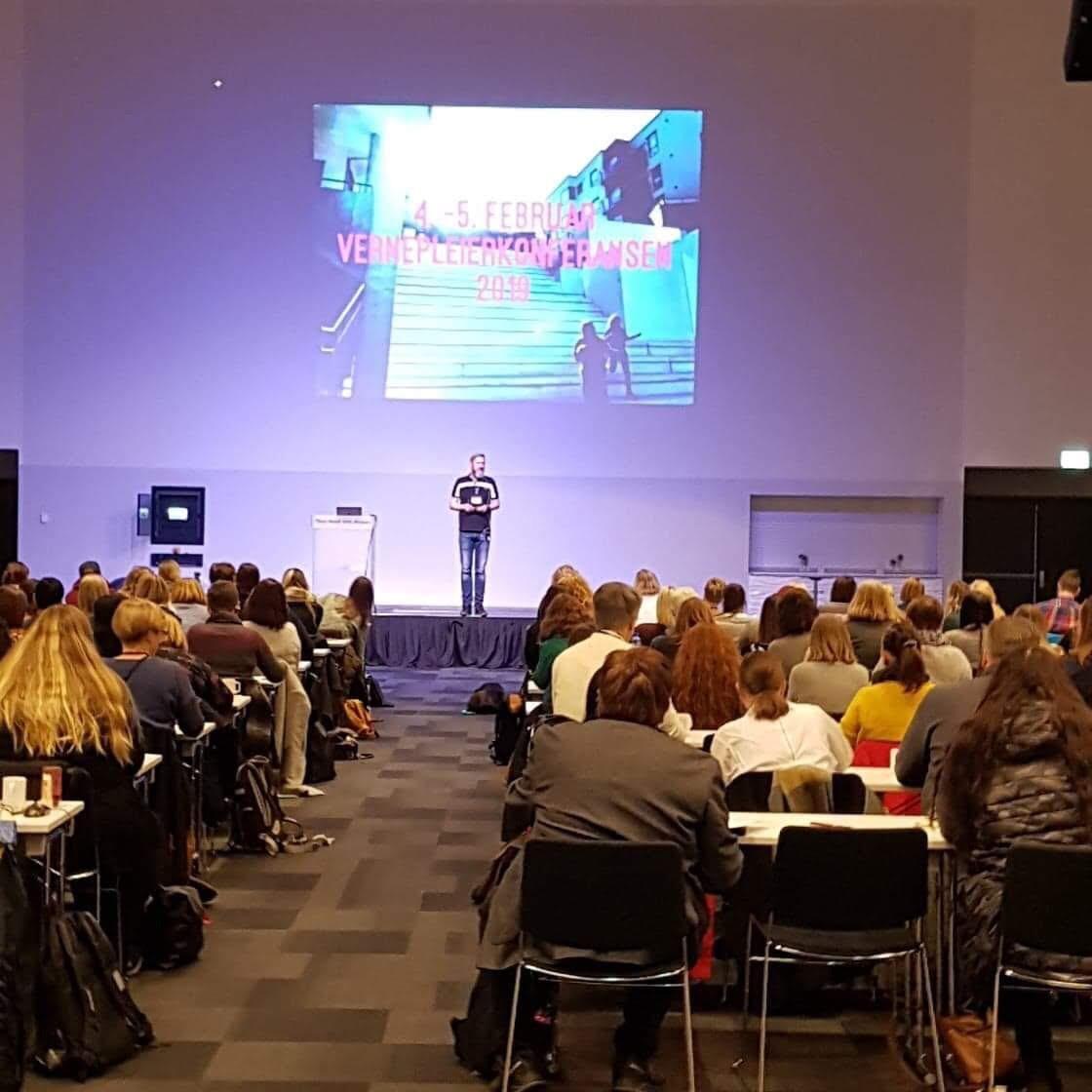 Bilde fra konferansesalen
